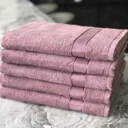 Махровое полотенце для рук фиолетовое 50х90 см up-violet