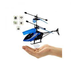 Летающий вертолет induction aircraft с сенсорным управлением 8088 — blue
