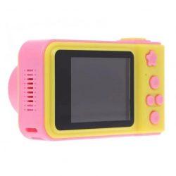 Детский цифровой фотоаппарат ukc smart kids camera розовый