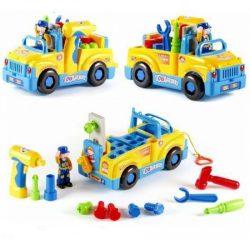 Конструктор грузовозик limo toy 789 желтый (intlt 789)