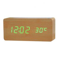 Настольные электронные часы vst 865 бежевые