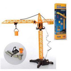 Кран на дистанционном управлении small toys 1562 оранжевый (2-92973a)
