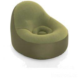 Надувное кресло bestway 75082, 105 х 98 х 76 см, зеленое (hub_3yzdyx)