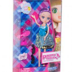 Кукла bailiya 83047 pretty angelia babyface с аксессуарами в голубом платье (tsi_45922)
