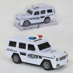 Джип инерционный полиция small toys 055-54 белый (2-82828a)