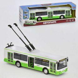 Музыкальный инерционный троллейбус play smart 9690а (2-54017a)