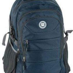 Молодежный рюкзак paso 28 л синий (17-30048)