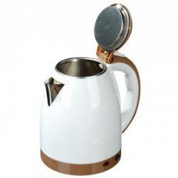 Чайник электрический domotec ms-5025c 2 л 1500w white/brown (112800)