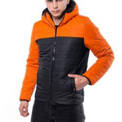 Демисезонная куртка intruder temp оранжево-черная (1589541956/2)