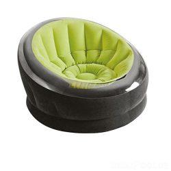 Надувное кресло intex 66582, 112 х 109 х 69 см, зеленый (hub_6gqufp)