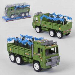 Инерционная военная машина small toys jf588-16a (2-54599a)