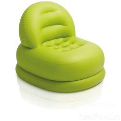 Надувное кресло intex 68592, 99 х 84 х 76 см, зеленое (hub_e9e8u1)