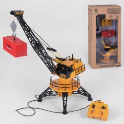 Кран на радиоуправление small toys 951 оранжевый (2-89413a)