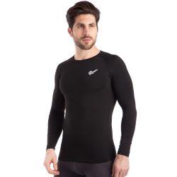 Термобелье мужское футболка с длинным рукавом jason d-923 2xl рост 180-185 black