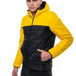 Демисезонная куртка intruder temp желто-черная (1589541980/2)