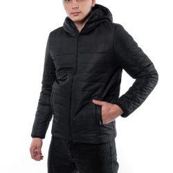Демисезонная куртка intruder temp черная (1589542023/2)