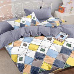 Двуспальный набор постельного белья черешенка™ 180*220 из сатина №1071ab