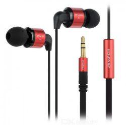 Проводные вакуумные наушники awei es600m с микрофоном красные (imm1040hh)