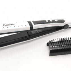 Утюжок для выравнивания волос gemey gm-2852 белый
