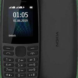 Мобильный телефон nokia 105 ta-1203 single sim 2019 black (s-239411)
