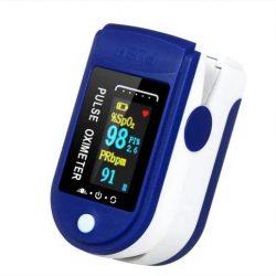 Пульсоксиметр fingertip pulse oximeter lk-88 1 шт cине-белый (0274)