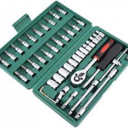 Набор инструментов aiwa piece tool set (46 предметов) для авто
