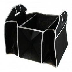 Ящик-органайзер складной для автомобиля car boot organizer универсальный черный (5739485)