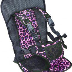 Бескаркасное автокресло для детей  multi function car cushion черный с фиолетовым (hbp3768711)