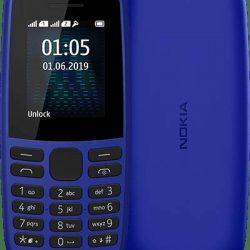 Мобильный телефон nokia 105 ta-1203 single sim 2019 blue (s-239412)