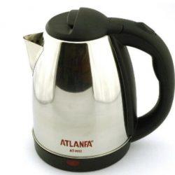 Чайник электрический atlanfa at-h02 2 л 1500w steel (301002)