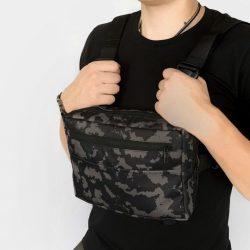 Нагрудная сумка intruder серый камуфляж (1595949281)