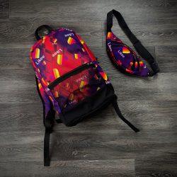 Комплект рюкзак+ бананка intruder likee (1598610766)