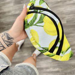 Бананка intruder текстиль принт лимоны (1592060041)