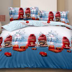Полуторный набор постельного белья черешенка™ 150*220 из ранфорса №18841ab