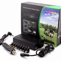 Универсальное зарядное устройство для ноутбука в авто и 220в 120w + переходники 8 в 1