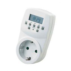Электронный таймер недельный horoz electric timer-2 белый (20053100258)