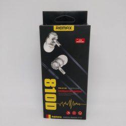Вакуумные наушники remax rm-810d с микрофоном mega bass красные (imm1136hh)