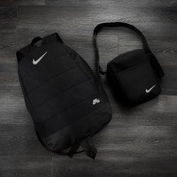 Комплект twix рюкзак + барсетка intruder nike черный (1/ 1591039322)