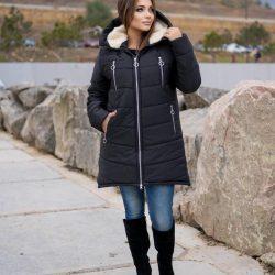 Куртка женская зимняя на овчине